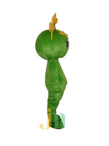 Even Cute Cartoon Cauliflower Woman Walking Doll Cartoon Clothing Sets Head Cute Female Cauliflower Mascot Costume