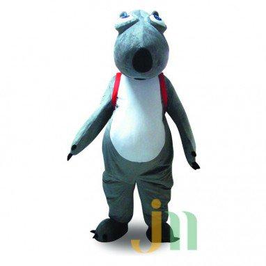 Rok Kom Backkom Cartoon Polar Bear Costume Dolls Can Walk Hedging Mascot Costume