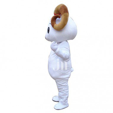 White Sheep Cartoon Walking Doll Clothing Doll Cartoon Sheep Set Sheep Mascot Mascot Costume