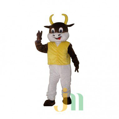 Cartoon Doll Cartoon Clothing Vest Cows Cows Walking Doll Kit Doll Mascot Costume
