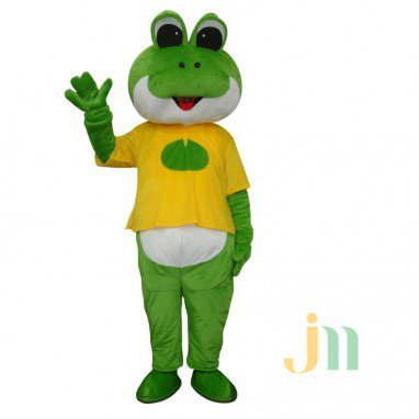 Cartoon Doll Cartoon Frog Frog Puppet Costume Walking Doll Sets Mascot Costume