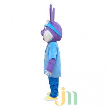 Cartoon Doll Cartoon Rabbit Ski Clothing Walking Doll Hedging Ski Rabbit Mascot Costume