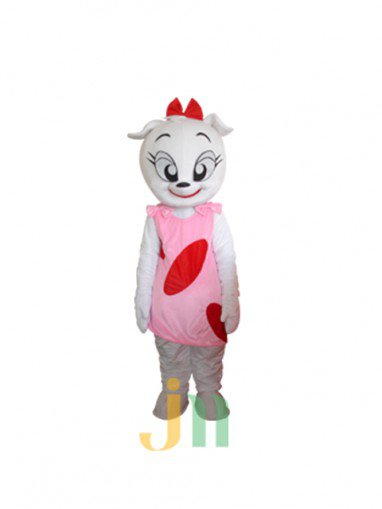 Cartoon Doll Clothing Lynx Mascot Woman Walking Hedging Activities Mascot Costume
