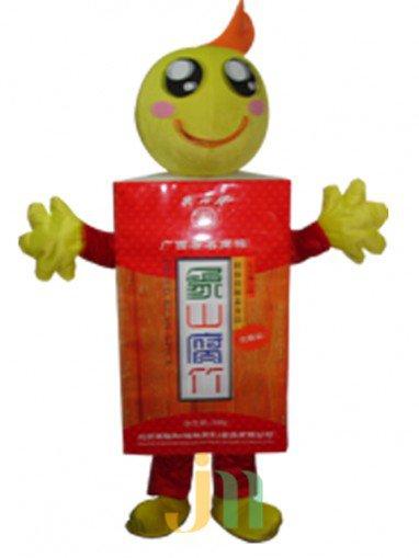Cartoon Doll Clothing Walking Hedging Mascot Costume Decoration Guilin Three Huajiu Animation Activities