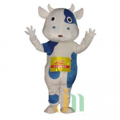 Kaka Cow Cartoon Walking Doll Clothing Doll Cartoon Cow Suit Kaka Doll Mascot Costume