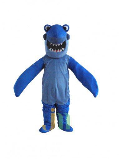 Lovely Cartoon Bulk of Blue Shark Dolls Walking Doll Cartoon Clothing Sets The Bulk of Blue Shark Mascot Costume