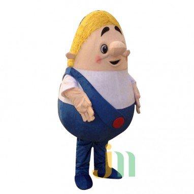 Tatu Long-haired Cartoon Doll Cartoon Walking Doll Clothing Hairy Belly Hedging Mascot Costume