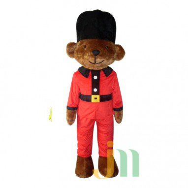 Bear Doll Cartoon Clothing Cartoon Guard Walking Doll Hedging Guard Bears Mascot Costume