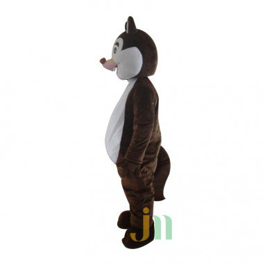 Brown Squirrel Doll Cartoon Walking Doll Clothing Hedging Brown Squirrel Mascot Costume