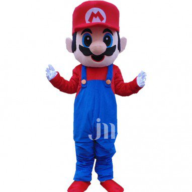 Cards Super Mario Doll Cartoon Walking Doll Clothing Hedging Mario Mascot Costume
