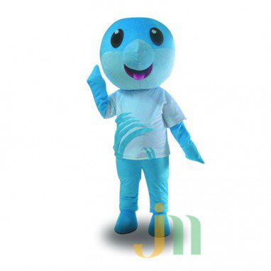 Cartoons and Dolphins Doll Cartoon Walking Doll Clothing and Hedging and Dolphins Mascot Costume