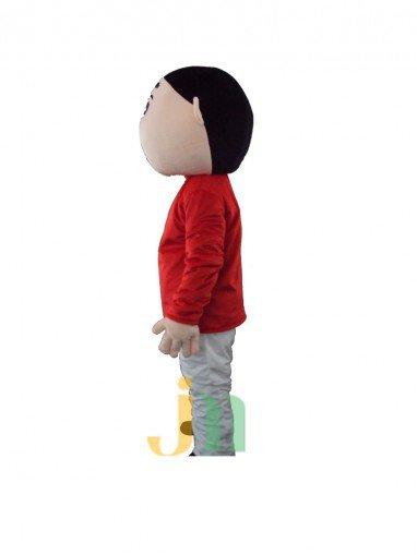 Cute Cute Cartoon Crayon Stay Even Walking Doll Cartoon Clothing Sets Head Crayon Mascot Costume