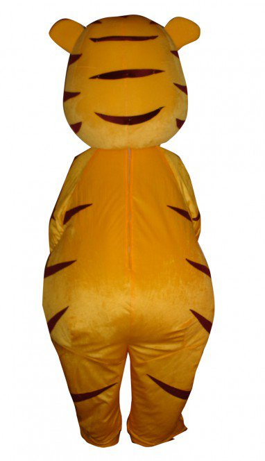 Doll Cartoon Clothing Cartoon Tiger Head Tiger Walking Doll Sets Mascot Costume