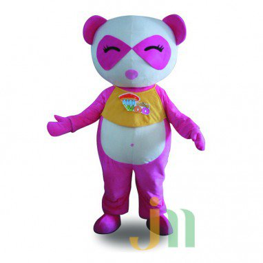 Even Cartoon Panda Woman Walking Doll Cartoon Clothing Sets Panda Female Head Mascot Costume