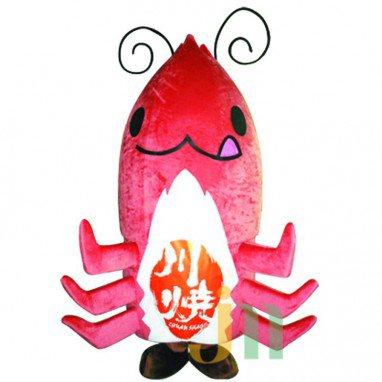 Lobster Cartoon Doll Cartoon Walking Doll Clothing Hedging Lobster Mascot Costume