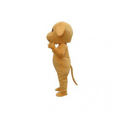 Small Brown Dog Cartoon Doll Cartoon Walking Doll Clothing Hedging Small Brown Dog Mascot Costume