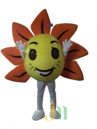 Sunflower Cartoon Doll Cartoon Walking Doll Clothing Doll Sets Sunflower Mascot Costume