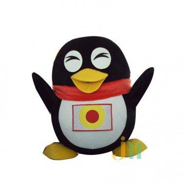 Zai Zai Qq Penguin Cartoon Doll Cartoon Walking Doll Clothing Hedging Qq Penguin Zai Zai Mascot Costume