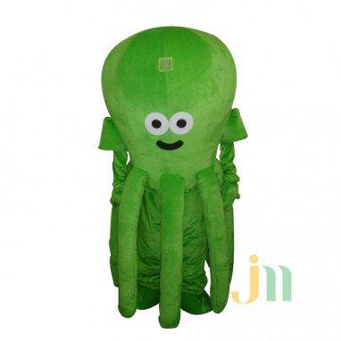 Cartoon Octopus Doll Cartoon Walking Doll Clothing Doll Sets Octopus Mascot Costume