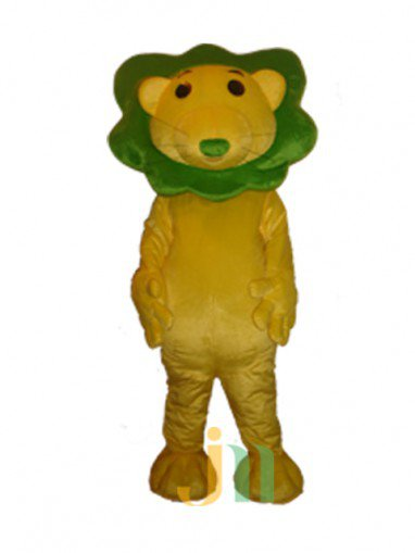 Cartoon Small Head Green Lion Walking Doll Doll Cartoon Clothing Sets Head Small Head Green Lion Mascot Costume