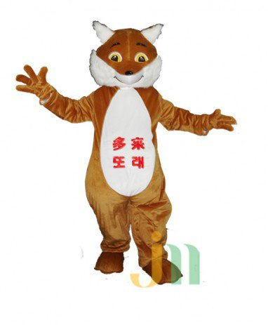 Cartoons Have Come Fox Walking Doll Doll Cartoon Clothing Sets Head Has To Fox Mascot Costume