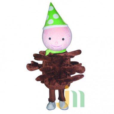 Chocolate Doll Cartoon Clothing Cartoon Walking Doll Hedging Chocolate Mascot Costume
