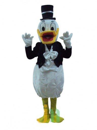 Daddy Duck Cartoon Doll Cartoon Walking Doll Clothing Hedging Daddy Duck Mascot Costume
