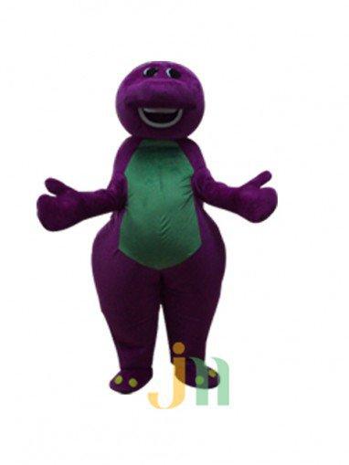 Doll Cartoon Clothing Cartoon Purple Dragon Purple Dragon Walking Doll Set Doll Mascot Costume