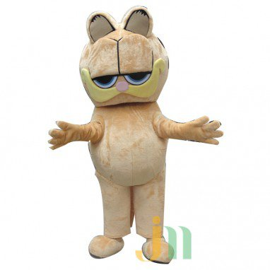 Garfield Cartoon Doll Cartoon Walking Doll Clothing Hedging Garfield Mascot Costume