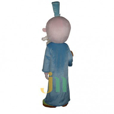 Grandfather Cartoon Doll Cartoon Walking Doll Clothing Hedging Grandfather Mascot Costume