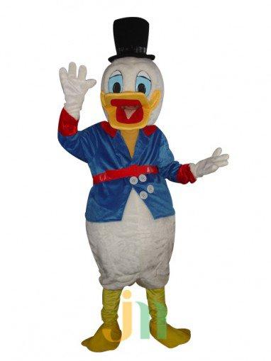 Hong Kong and Macao Edition Donald Duck Cartoon Walking Doll Clothing Hedging Hong Kong and Macao Edition Donald Duck Mascot Costume