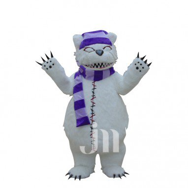 League Cubs Tibo Si Anne Cartoon Walking Doll Clothing Hedging Bear Ti Bosi Mascot Costume