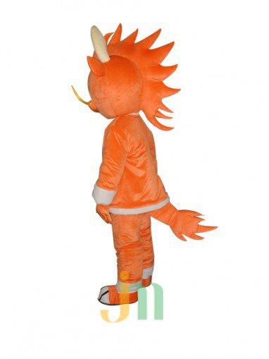 Lucky Dragon Cartoon Man Even Walking Doll Cartoon Clothing Sets Fu Long Man Even Mascot Costume