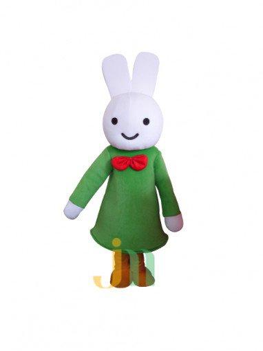 Miffy Lovely Cartoon Doll Cartoon Walking Doll Clothing Hedging Miffy Dolls Mascot Costume