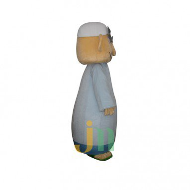 Party Doll Cartoon Clothing Cartoon Old Man Walking Doll Hedging Square Old Mascot Costume