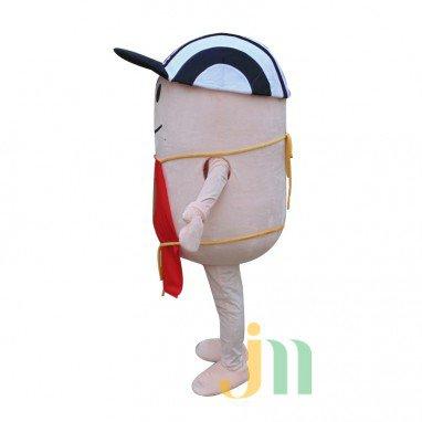 Sesame Cartoon Boy Walking Doll Clothing Doll Cartoon Boy Hedging Sesame Mascot Costume