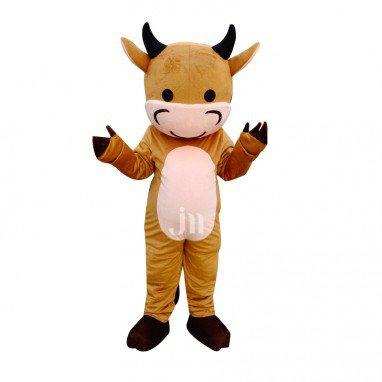 Sweetheart Doll Cartoon Clothing Cartoon Walking Doll Cattle Hedging Sweetheart Cattle Mascot Costume