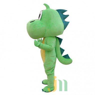 Big Green Dragon Cartoon Doll Cartoon Walking Doll Clothing Hedging Big Green Dragon Mascot Costume