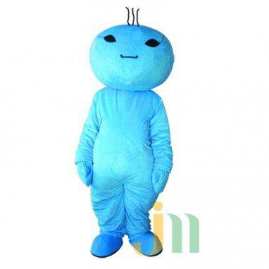 Blue Cartoon Doll Doll Cartoon Walking Doll Clothing Hedging Blue Doll Mascot Costume
