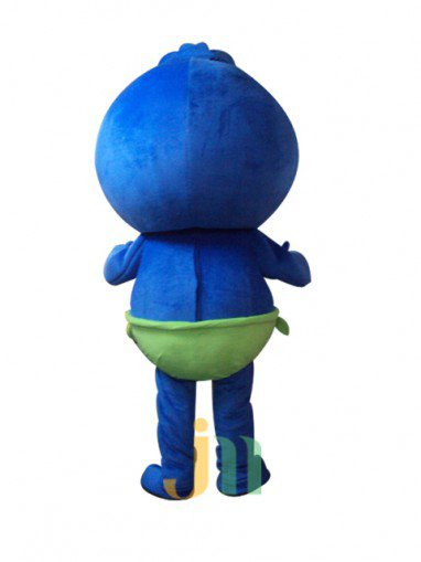 Blueberry Cartoon Walking Doll Clothing Doll Cartoon Kid Hedging Blueberry Boy Mascot Costume