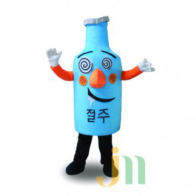 Bottle Doll Cartoon Clothing Cartoon Walking Doll Hedging Bottles Mascot Costume