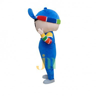 Cartoon Boy Walking Doll Doll Cartoon Clothing Sets Boy Dolls Mascot Costume