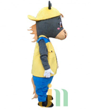 Cartoon Cow Doll Cartoon Walking Doll Clothing Sets Head of Cattle Mascot Costume