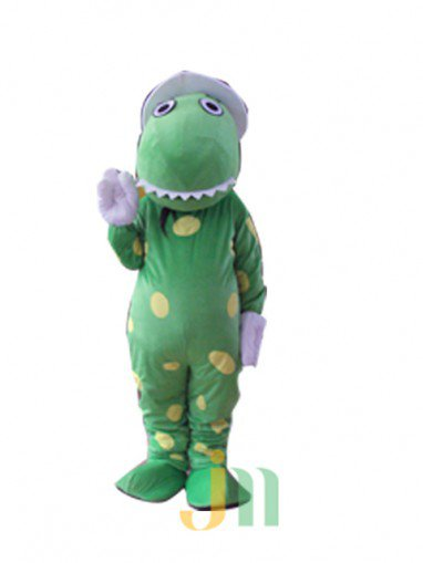 Cartoon Doll Clothing Walking Hedging Ceremonial Green Dragon Mascot Costume Cartoon Events