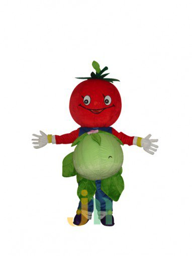 Cartoon Fruit Auspicious Cabbage Dolls Cartoon Clothing Walking Doll Hedging Mascot Costume