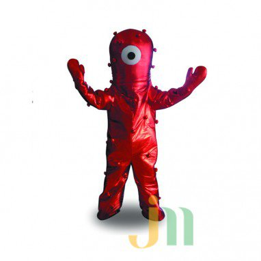 Cartoon Red Finger Doll Cartoon Walking Doll Clothing Hedging Red Finger Mascot Costume