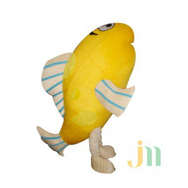 Cartoon Small Yellow Croaker Doll Cartoon Walking Doll Clothing Doll Sets of Small Yellow Croaker Mascot Costume