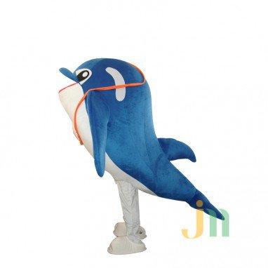 Dolphin Cartoon Walking Doll Doll Cartoon Clothing Sets of Small Dolphin Dolls Mascot Costume