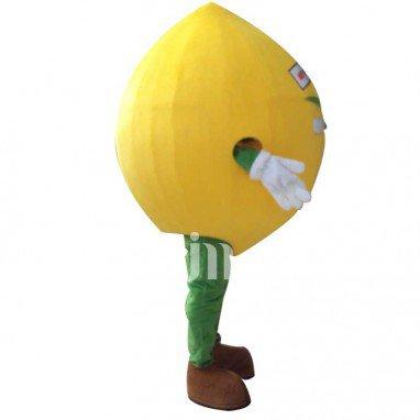 Lemon Cartoon Doll Cartoon Walking Doll Clothing Doll Sets of Lemon Mascot Costume