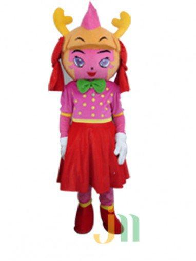 Maid Doll Cartoon Clothing Cartoon Walking Doll Sets Maid Doll Mascot Costume